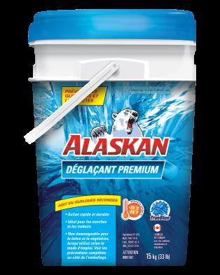 Alaskan Chaudière de déglacant premium 15KG
