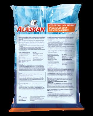 Alaskan Pet Friendly Ice Melter bag back