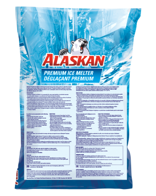 Alaskan Premium Ice melter bag 10kg back