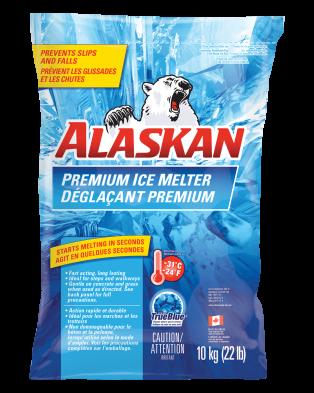 Alaskan Premium Ice melter bag 10kg front