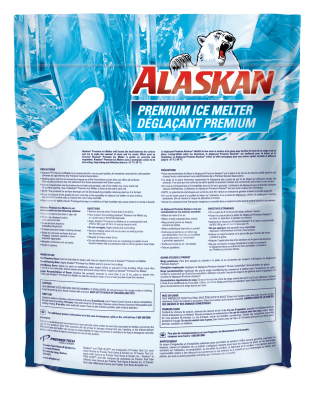 Alaskan Premium Ice Melter Refill bag back