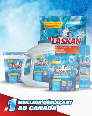 Déglaçant Premium Alaskan® en chaudière