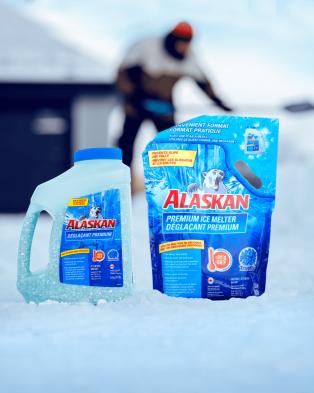 Recharge de déglaçant Premium Alaskan®en sac