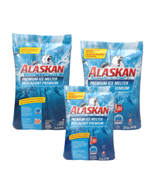 Alaskan® Premium Ice Melter Bag 10,20,25 kg