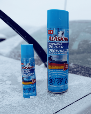 Alaskan® Windshield De-Icer